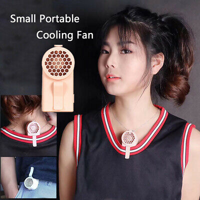 Small Portable Cool Cooling Fan Personal Space USB Clip-on Electric Fan Travel