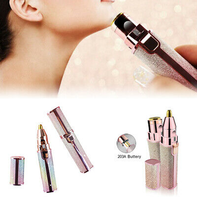 Women's Painless Facial Face Body Leg Hair Removal Remover Lipstick Shavers Hot