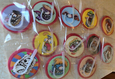 (6) Hot Rod Monster, Reno Roth, Rat Fink, Daddy, Air Fresheners, Warehouse Find