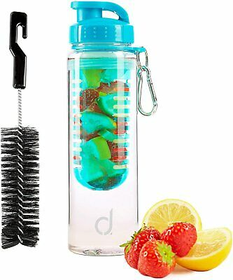 NEW JOB LOT X 10  Andrew James Cold Infusion Water Bottle With Fruit Infusers