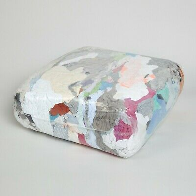 10KG Ball Of Mixed Coloured Rag & Wipes For Cleaning & Janitorial