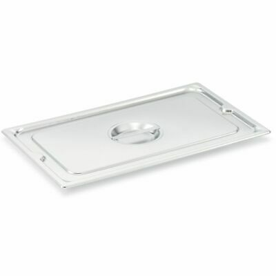 Vollrath 93500 Super Pan V S/S Half-Long Size Solid Cover