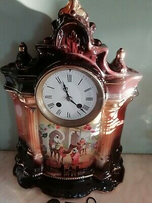 Antique french mantle clock.