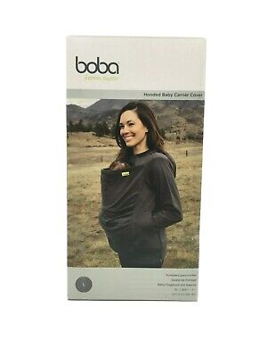 Boba Baby Carrier Hoodie Cover - Grey - Large