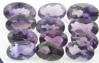Amethyst 10x8 Oval Briolet Pair 4.50cts only  $9.99