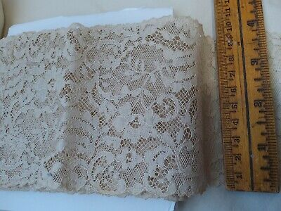 """Vintage Lace  french? BEAUTIFUL! 3 3/4"""" Wide By the yard"""