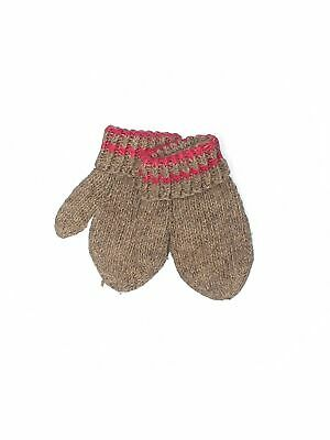 Unbranded Women Brown Mittens One Size