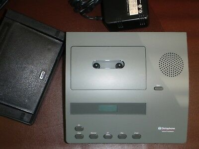 Dictaphone 2740 Standard cassette transcriber with foot pedal & Headset