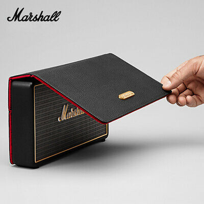 Marshall Stockwell Bluetooth Portable Speaker With Flip Cover Black / Gold UK