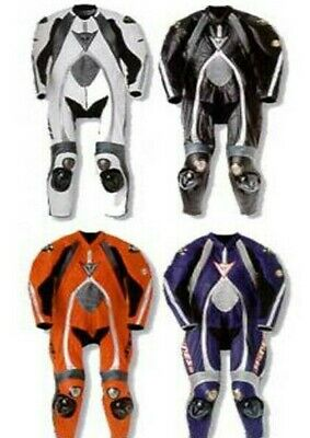 Brand New T-Age Titanium Motorcycle Motorbike Racing Leather Suit CE APPROVED
