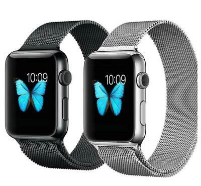 38mm Magnetic Stainless Cinturino Acciaio per for Apple Watch iWatch