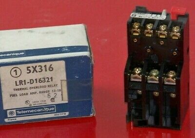 LR1-D16321 Telemecanique 13 to 18 amp thermal overload relay