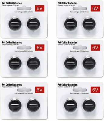 6V Pet Collar Batteries For PetSafe RFA-67 6 Volt 100% Replacement Batter US