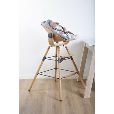 Evolu High Chair Newborn Seat - Natural/anthracite
