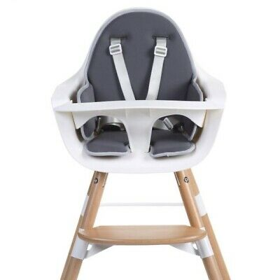 Childhome Evolu Seat Cushion for Baby/Toddler Highchair - Black