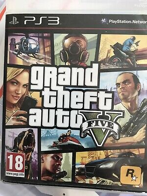 Grand Theft Auto V | GTA 5 | Playstation PS3 | Excellent Condition
