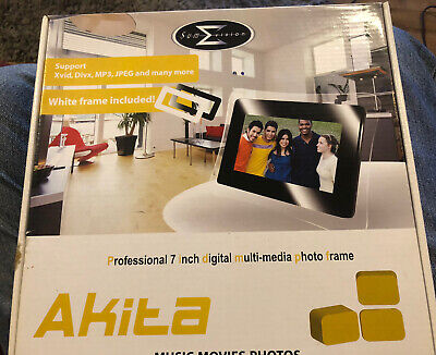 "Sumvision Professional Digital Multimedia Photo Frame 7"" Music Movies Photos"