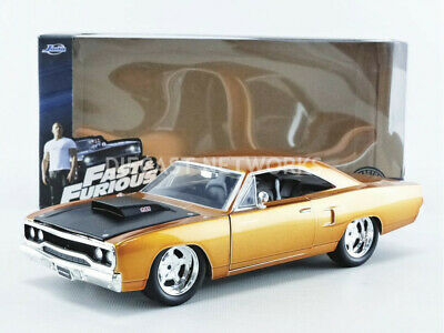 Jada Toys - 1/24 - Plymouth Road Runner - Fast And Furious - 97126Or