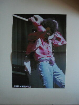Jimi Hendrix Poster France French