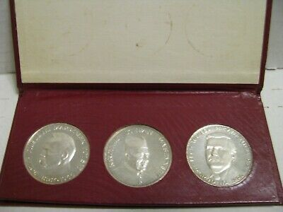 Poland 3 pack historical silver medals