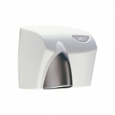 New Jd Macdonald Autobeam Hand Dryer Automatic 63 Decibels - White With Satin