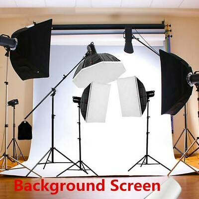 7x5FT Thin Vinyl White Photography Background Screen BackdropStudio PhotoProps d