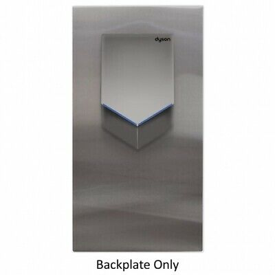 New Dyson Airblade V Hu02 Back Panel - Silver Backplate Only