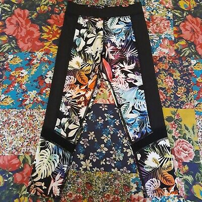 Next Age 8 Girls Running Dance Gym Leggings Activewear Sport Butterfly Print