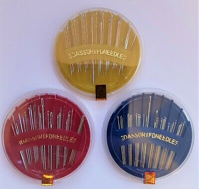 Needle Compact - 30 Assorted Needles -Various Colours  *** Free Post ***