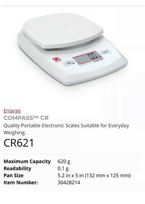 Ohaus Portable Balance CR621 - 30428214 Scales