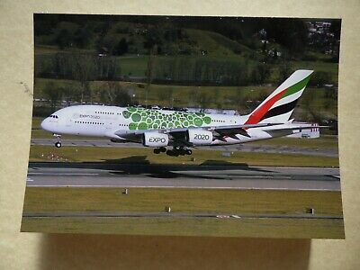 collection vilain N° 1185 EMIRATES AIRLINES  AIRBUS A 380   A6-EEW