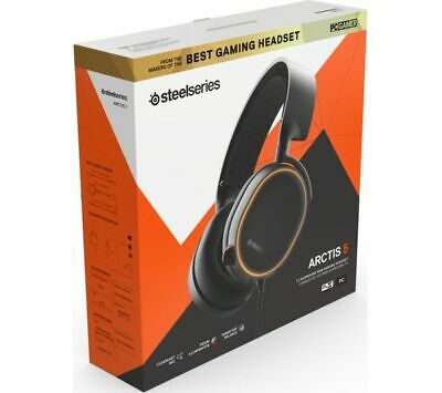 STEELSERIES ARCTIS 5 Casque Jeu Éclairage RVB Son Surround