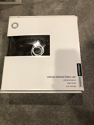 Bugaboo Cameleon Canvas tailored fabric Set Carrycot Apron Seat Cover Sun Canopy