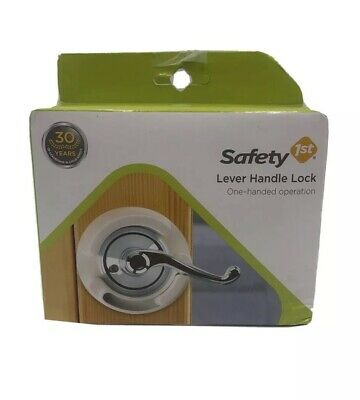 Safety 1st Lever Handle Lock #48400 (One Hand Operation) Baby Proofing