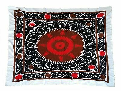 Uzbek Medium Vintage Wall Hanging Hand Embroidery Gift Suzani SALE WAS $299.00