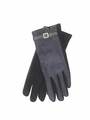 Unbranded Women Blue Gloves S