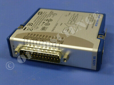National Instruments NI 9221 cDAQ Analog Input Module, ±60V Analog Input