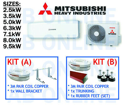 Mitsubishi Heavy Industries Mhi Split System Reverse Cycle Air Con Copper Aircon