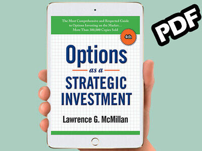 Options as a Strategic Investment By Lawrence G. McMillan 🔥 FAST DELIVERY 🔥