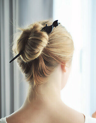 Cat Buffalo Horn Hair Stick Hairstick Hairpin Hair Pin Accessory For Women