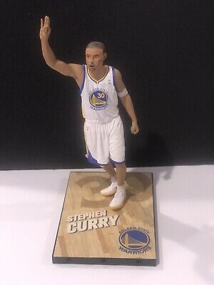 Stephen Curry Mcfarlane Rookie Action figure Golden State Warriors NBA Champions