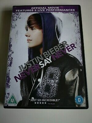 Justin Bieber Never Say Never Maxi Poster 61cm x 91.5cm new and sealed