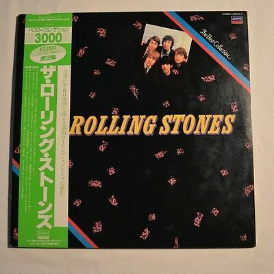 Rolling Stones - The Best Collection - 1983 2Lp Japan 24-Tracks