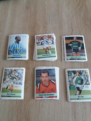 The Sun Soccer Collection 90-91 Stickers - Pick From list