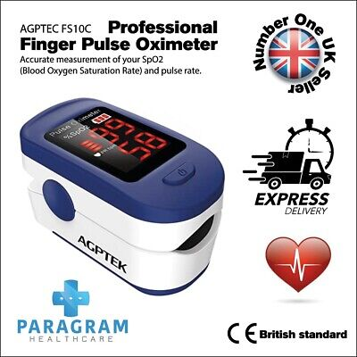 NHS Approved Finger Pulse Oximeter Sensors