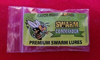 Swarm Commander Premium Swarm Lure 5 Vial Pack for Beekeeping