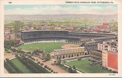 Forbes Field Schenley Park Pittsburgh PA D4