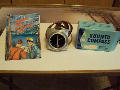 Vintage Suunto Compass M-311 in original box and with instructions.