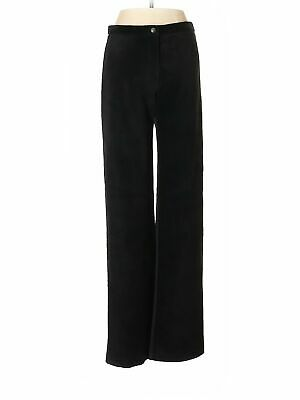 Mitchie's Matchings Women Black Leather Pants S