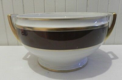 Italian Bowl or Soup Tureen Palermo Brown by RICHARD GINORI Italy Double Handled
